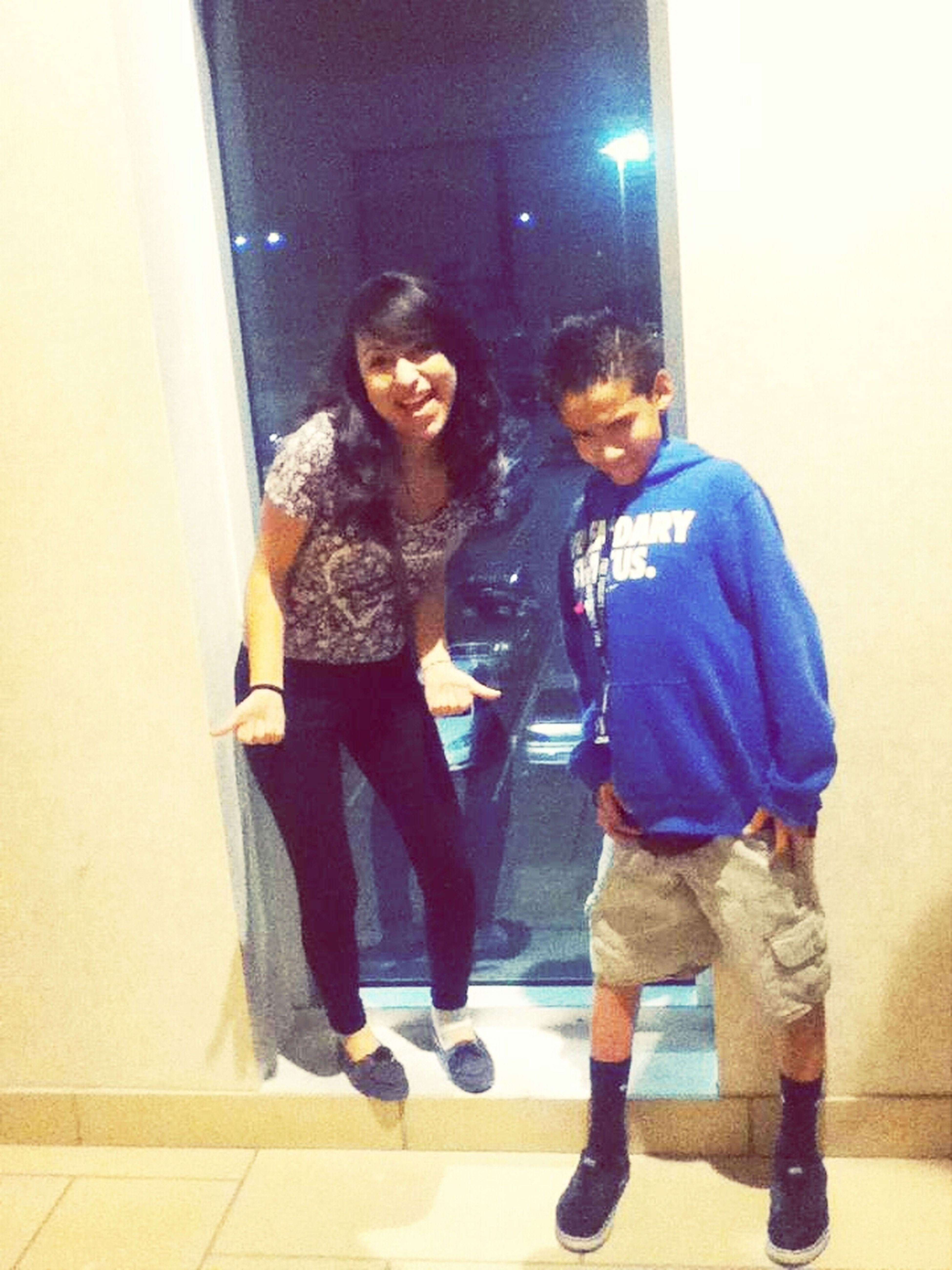 The other day at the mall.