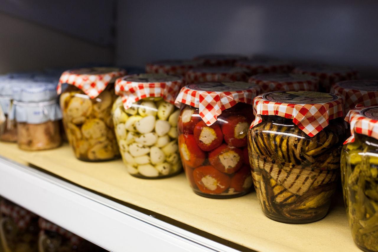Preserved food Artisan Close-up Farm Farm Life Handmade Jars  Preserve Rustic Vegetables White