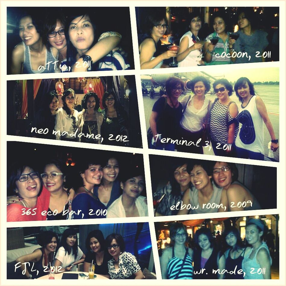 ...my beloved L gank, Welcome 2013! Friends Hangout Party Hard Bff Gals Party