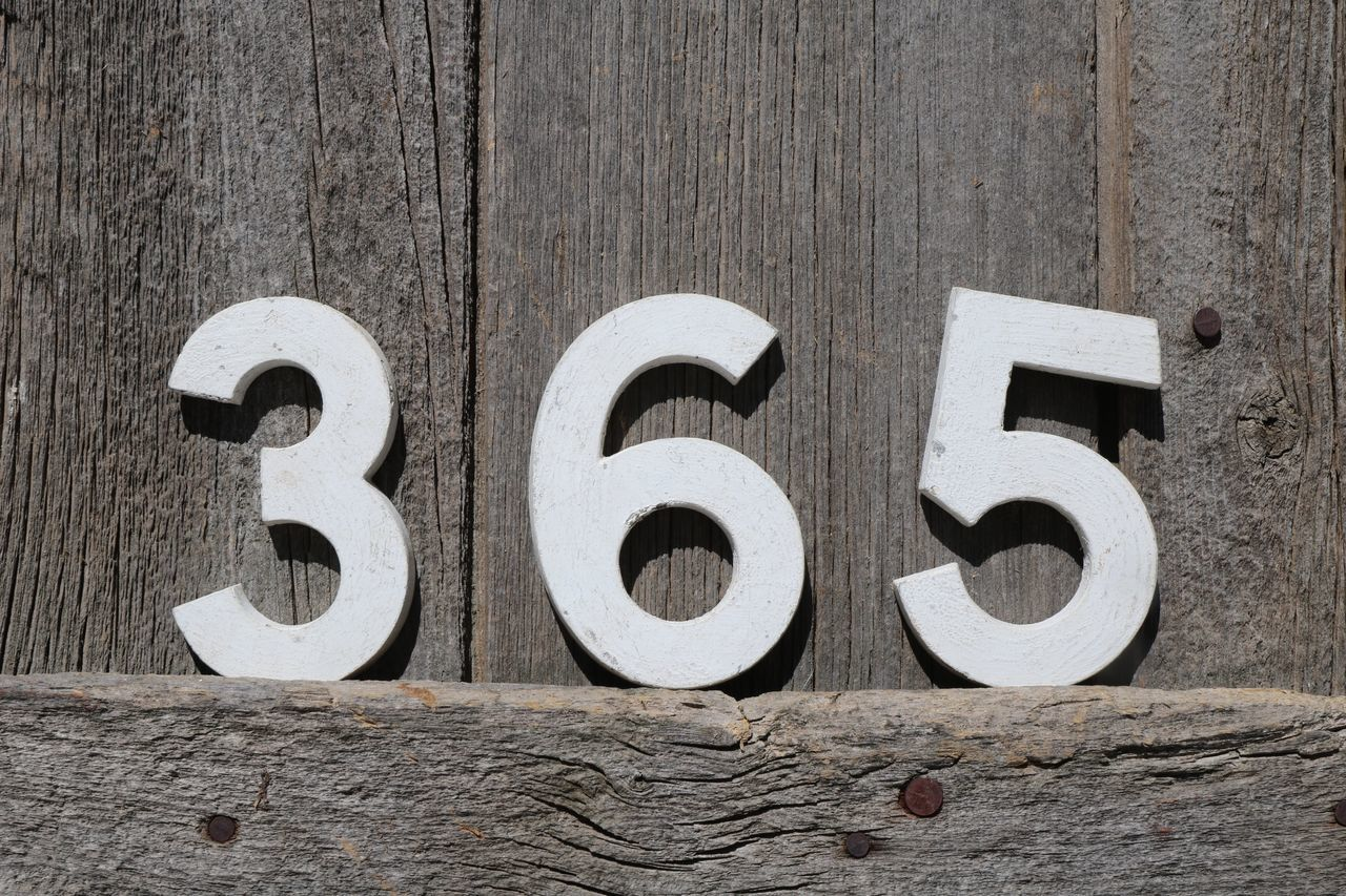 365 Architecture Building Exterior Built Structure Circle Close-up Day Door Full Frame Metal No People Numbers Numbers Never Lie Numbers Only Old Outdoors Pattern Safety Textured  Wall Wall - Building Feature White Color Wood - Material Wooden