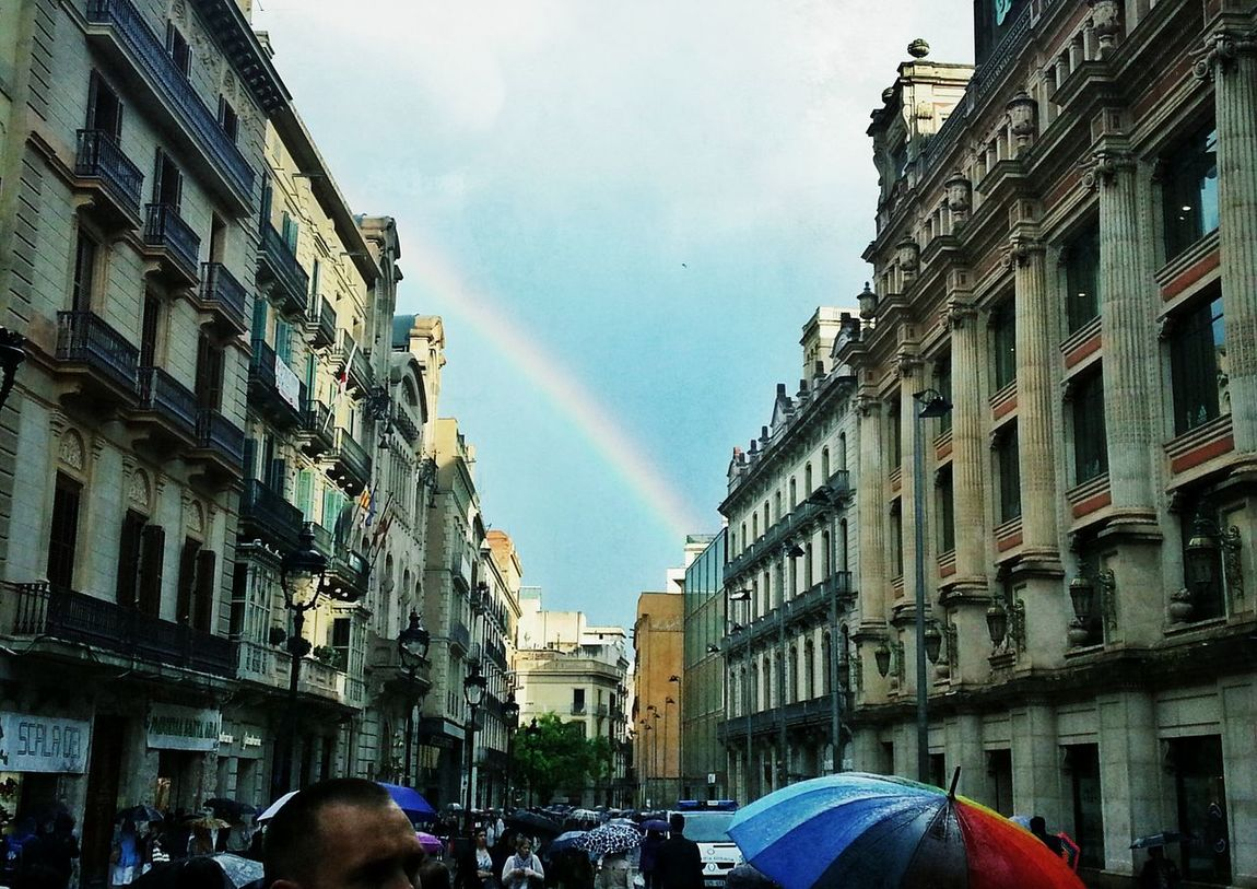 barca prepared another Rainbow for us ♥ VuelingBotschafter