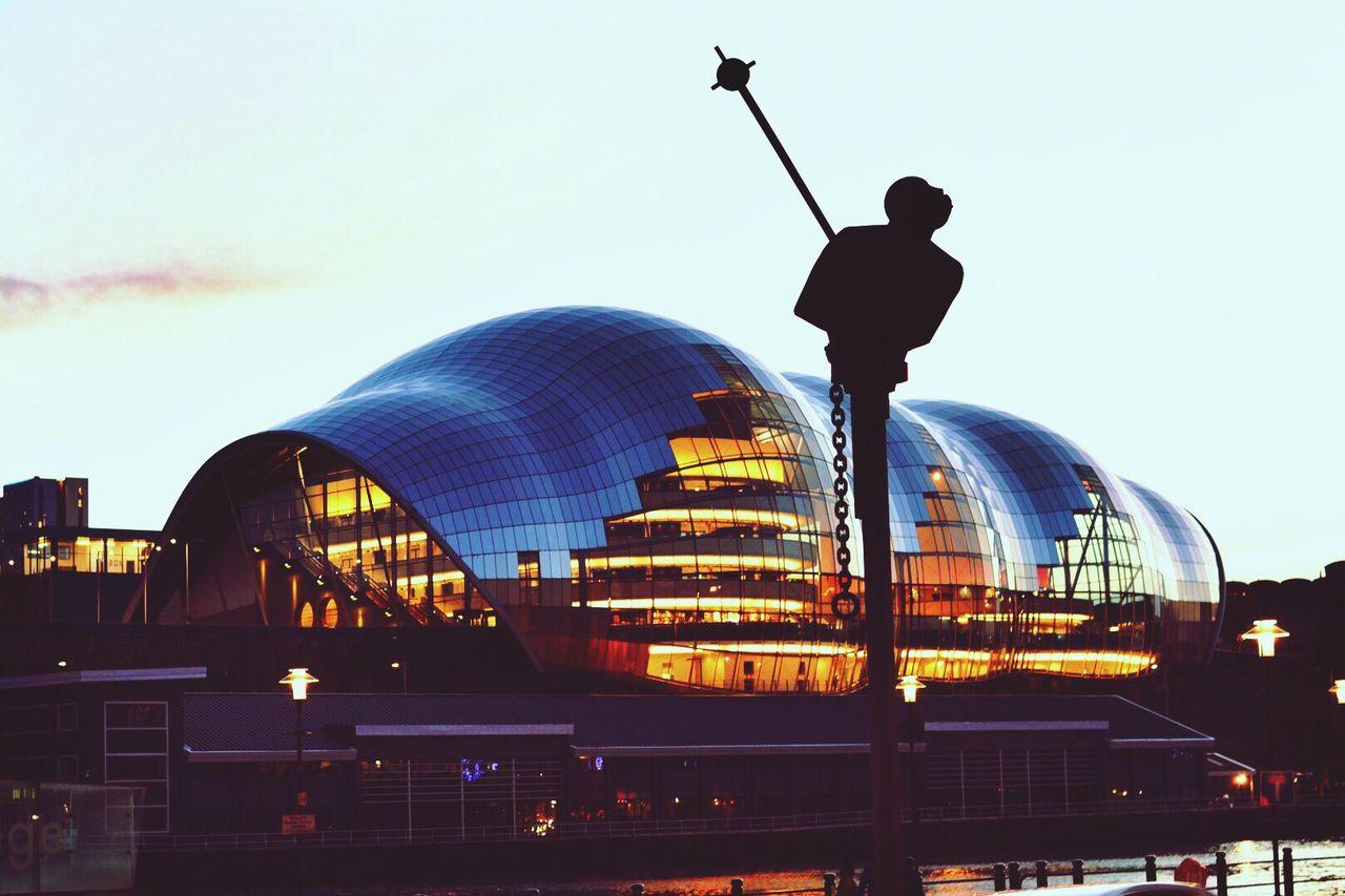 Urbanphotography Streetphotography Blackandwhite Newcastle City Newcastle Upon Tyne The Sage Gateshead The Sage Sunset