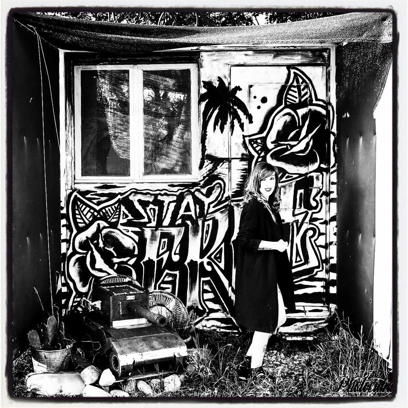 Mutoid Waste Company Mutonia Mutoid Monochrome Photography Outdoors Photo Shoot Photocuba SantarcangeloDiRomagna Inkedmodel Woman Who Inspire You Woman Portrait Artphotography Real People Graffiti Murales Art Arte Urbano  Black And White Contrast And Lights Photooftheday Alternative Girls Model Shoot Punk Style Nero Black & White