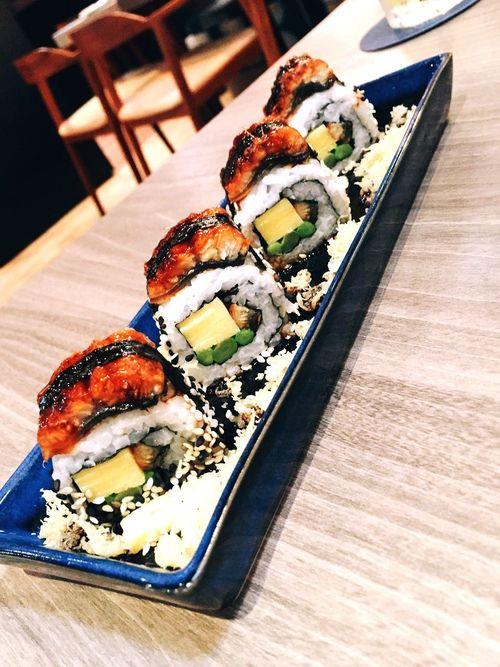 Food Unagi Eel Japanese Food Sushi Found On The Roll Sushiroll