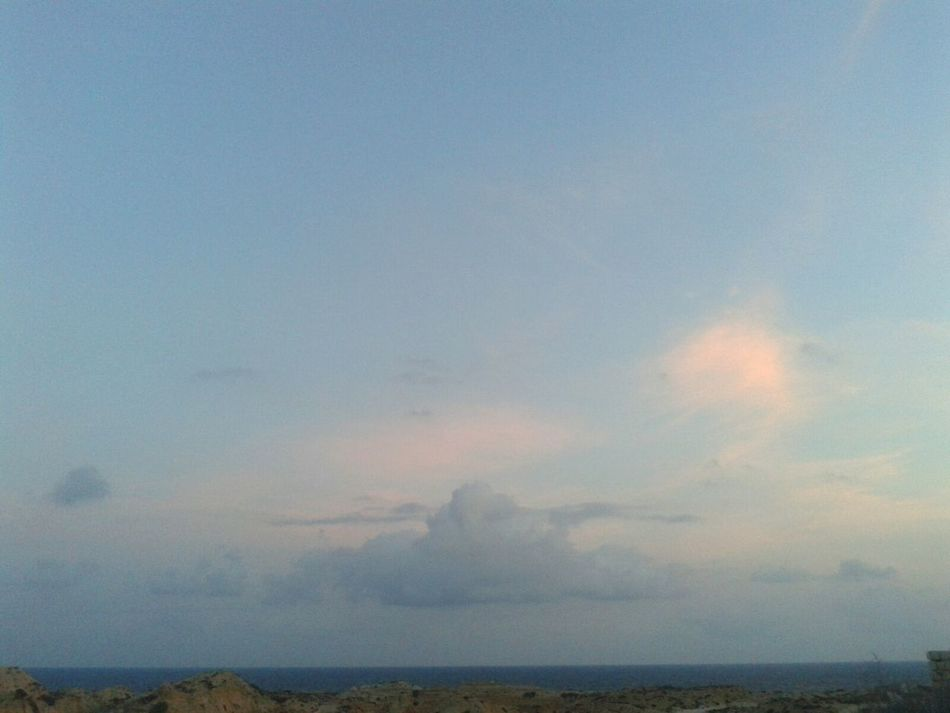 Looks like a flyin' eagle in the sky Clouds And Sky Sea_collection in Azzawya Libya