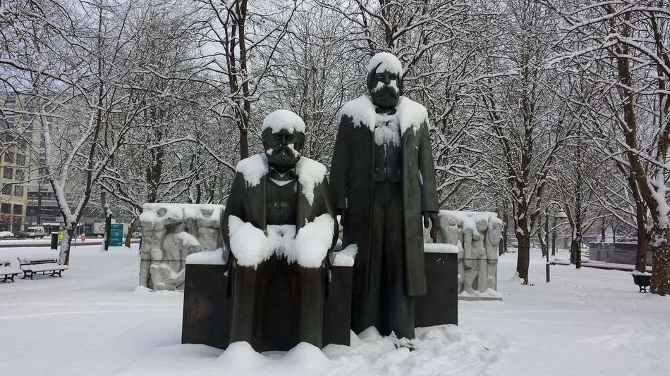 Das Kapital Xmas Socialism Snow Winter Remnants Of Socialism