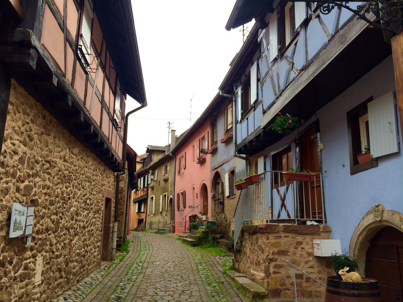 2016 April Alsace-Lorraine Alsace France Village House