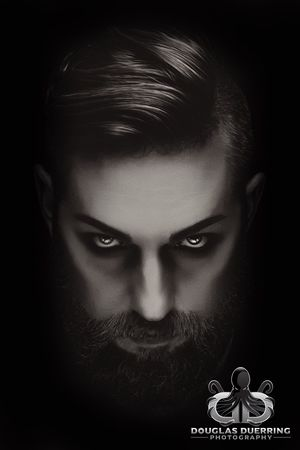 365 days/365 portraits. Patiently waiting for All Hallows' Eve. 300/365 Proud to be sponsored by Mad Viking Beard Co. Studio Shot Headshot Close-up Fashion EyeEm Selects EyeEm Best Shots Photographic Memory Popular Photos 365project Duerringphoto Black And White Monochrome_life Photographylovers EyeEm Gallery Eye4photography  365project2017 Fashion Model (null)Beard Portrait The Week On EyeEm First Eyeem Photo EyeEmBestPics Duerringesque Exceptional Photographs