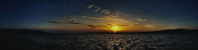 Clouds Sea And Sky Water Seascape Sea View Aegean Sea Portizmir Izmirharbour Limanizmir Izmir Alsancak Kordon Sunset Sunsetporn Sunset And Clouds  Sunsetphotographs Sunset_collection Nofilter