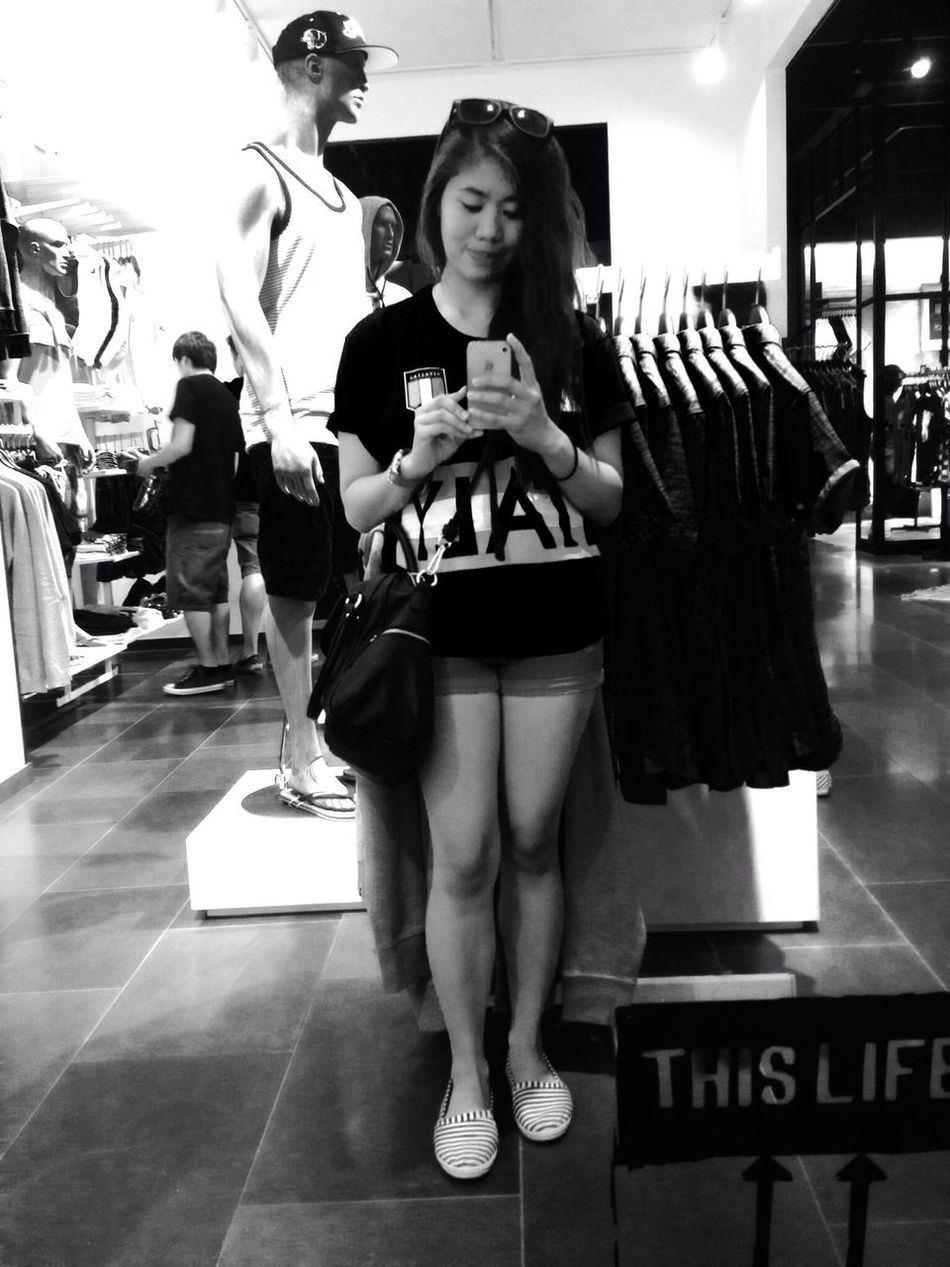"Blackandwhite "" Mirror mirror on the wall who's the fairest of them all. "" SelfieShot Jackandjones Italyshirt"