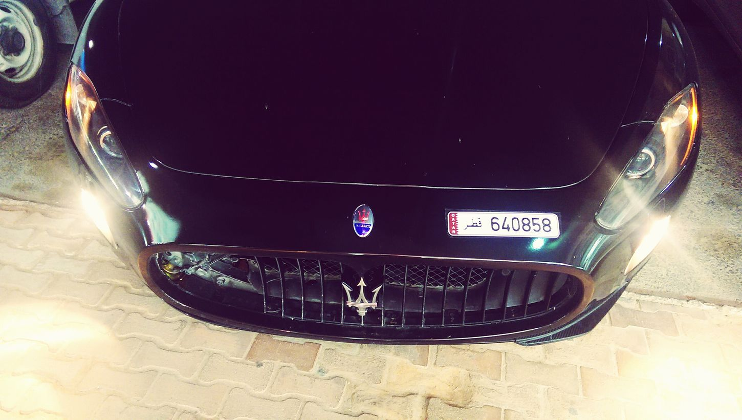 MASERATI Hanging Out Accedent Check This Out