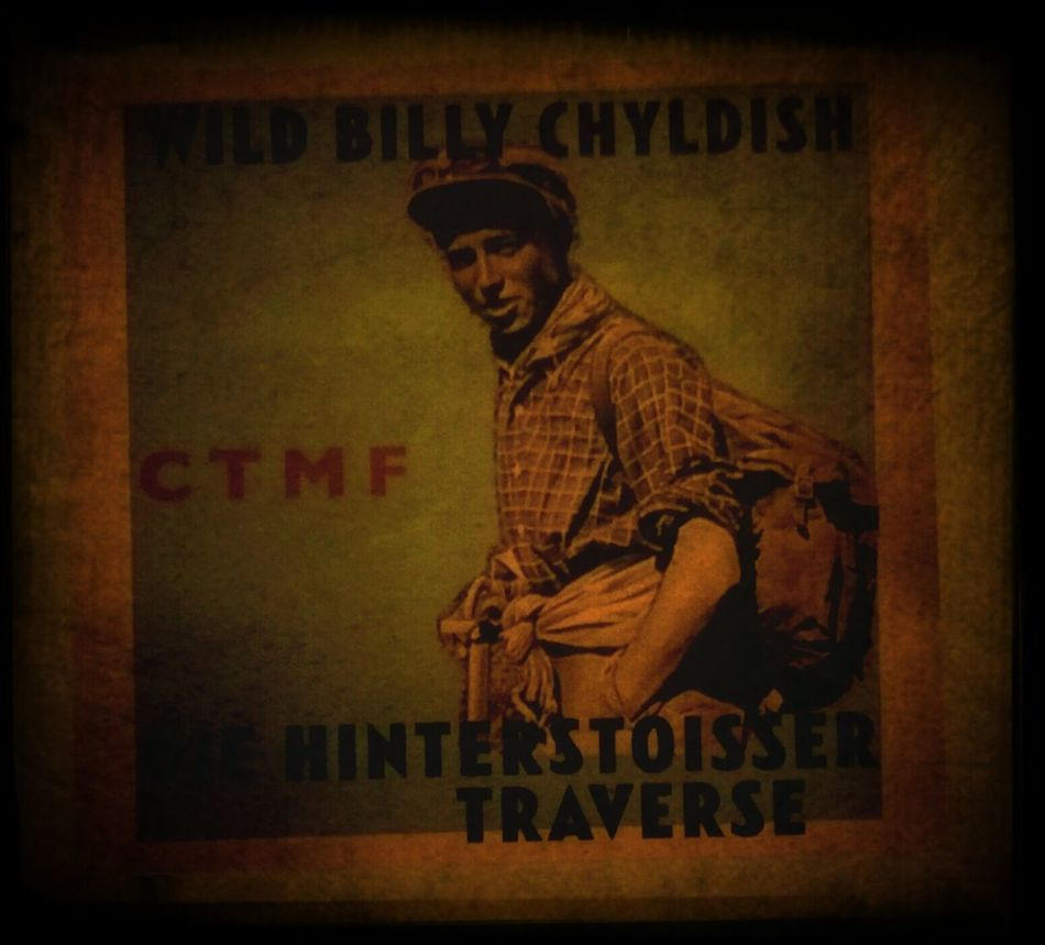 super exciting new billy childish cd came in the post today