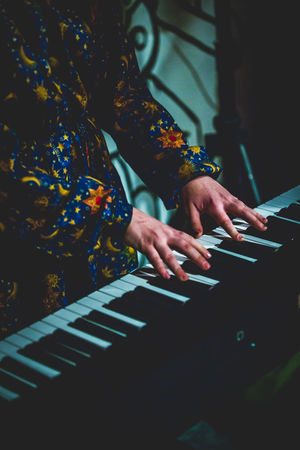 Adult Concert Garage Band Garage Door Guitar Guitarist Human Body Part Human Hand Jam Session Light And Shadow Live Music Live Music Club Live Show Music Music Musical Performance People Performance Piano Player Piano Playing Real People Synth Synthesizer Vocalist