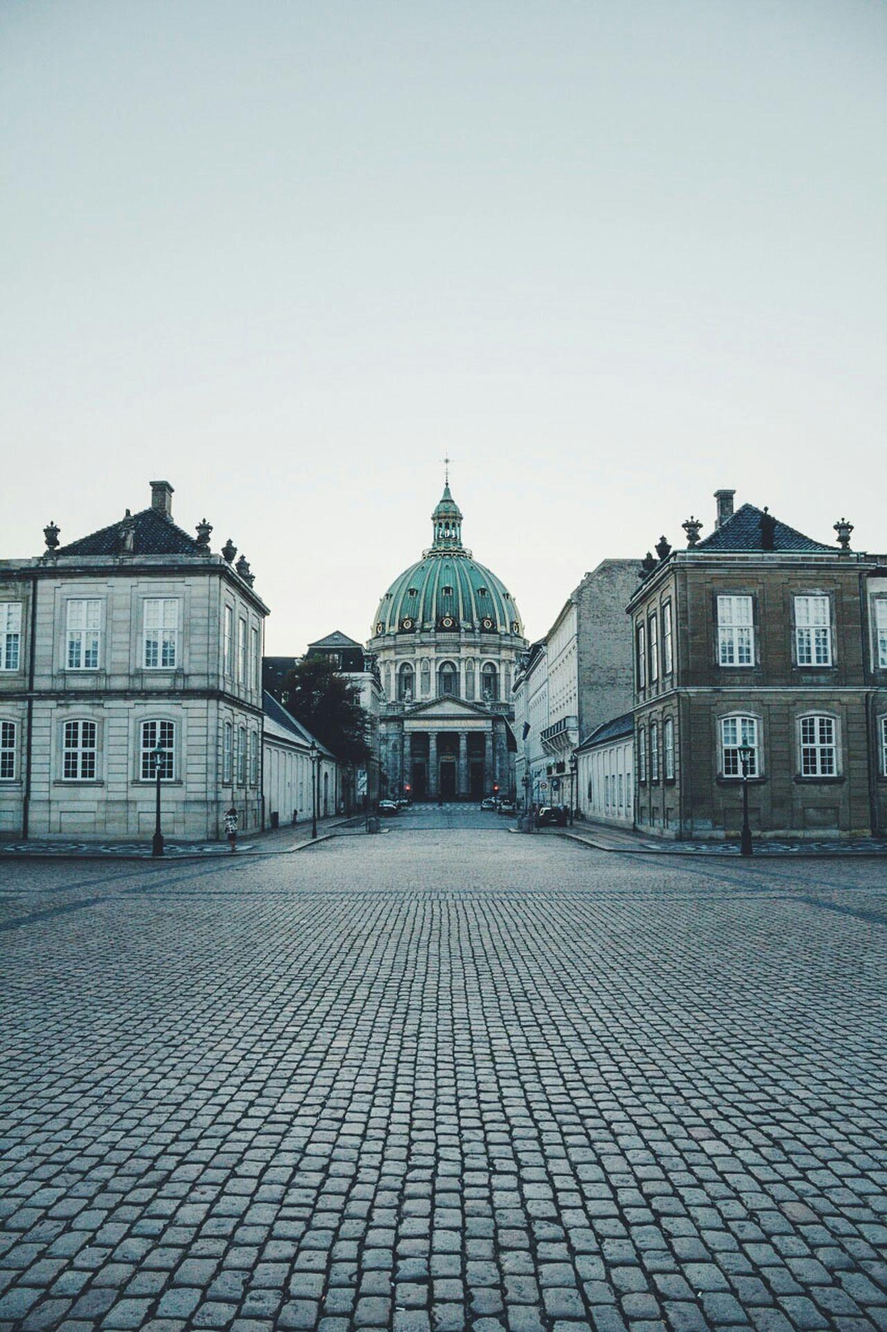 Copenhagen Travel Rococo Courtyard  Church