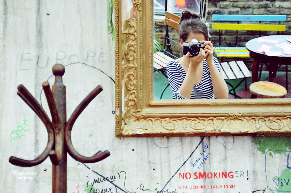 #budapest #girl #mirrorphoto #portrait #portraitphotography #ruinpub #selfie Fashion One Person Outdoors People