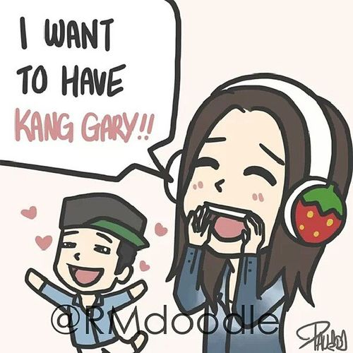 I'm sure Mongji wanted to say this to Kang Gary for a long time! Mongji KangGary Runningman 154