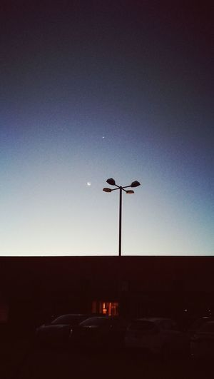 Nofilter. Noedit.Huaweip9 Moon Sky Clear Sky Low Angle View Nature Night No People Astronomy Outdoors