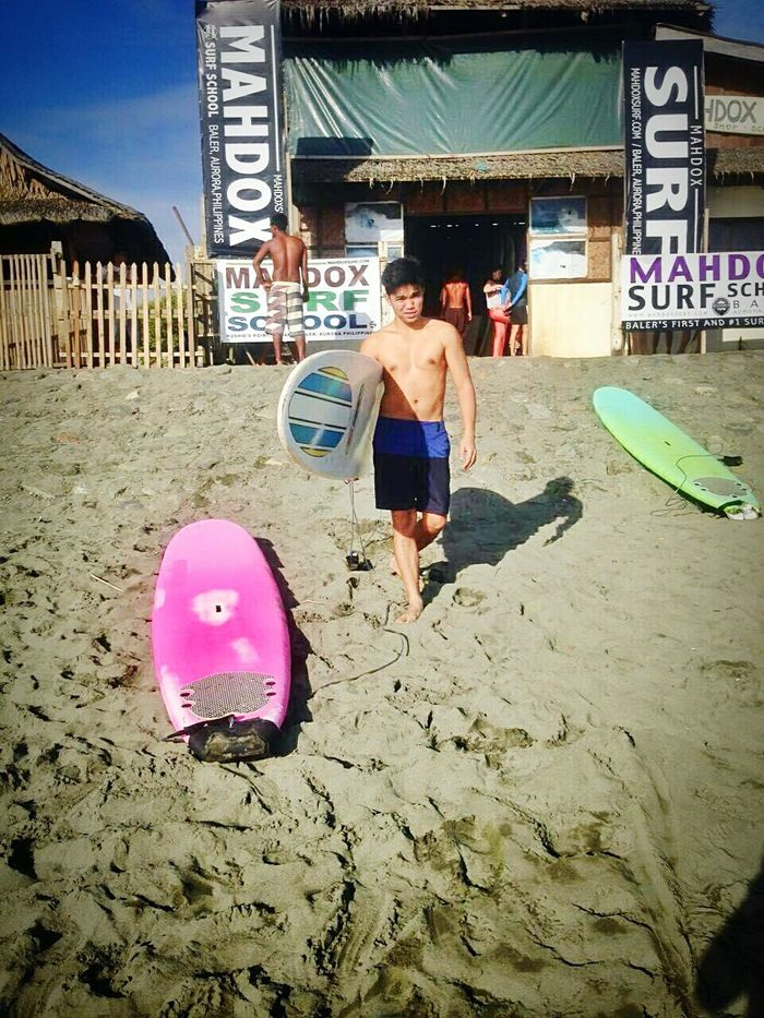 Gonna play with the waves Yolo Surfing Mobile Photography Baleraurora