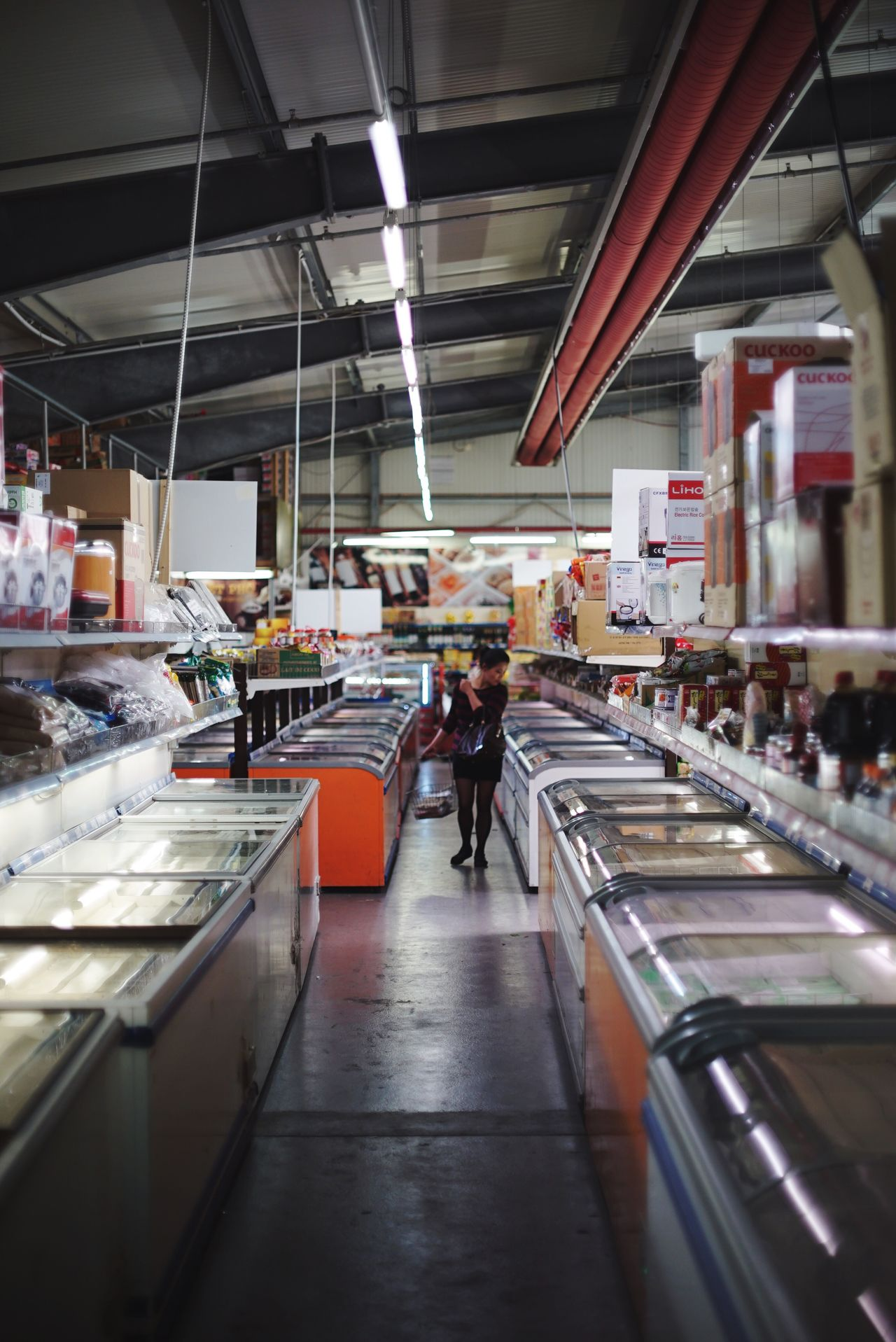 Grocery Shopping Freezers My Fuckin Berlin Berliner Ansichten Dong Xuan Market Vietnamese Supermarket Food Foodstagram