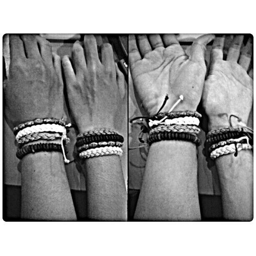 Same Bracelets ,same Clothes ,same Handphones ,same Motorcycles but different version,same cigarettes and anything elses