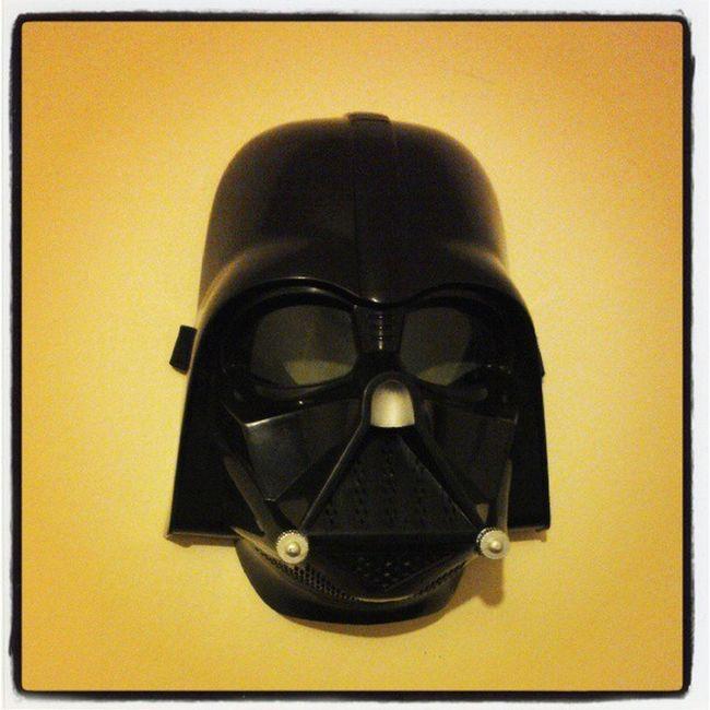 Decoração da minha casa é FODA! Starwars Darthvader Darkside