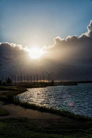Enjoying The Sun Photography Horizon Fresh Air