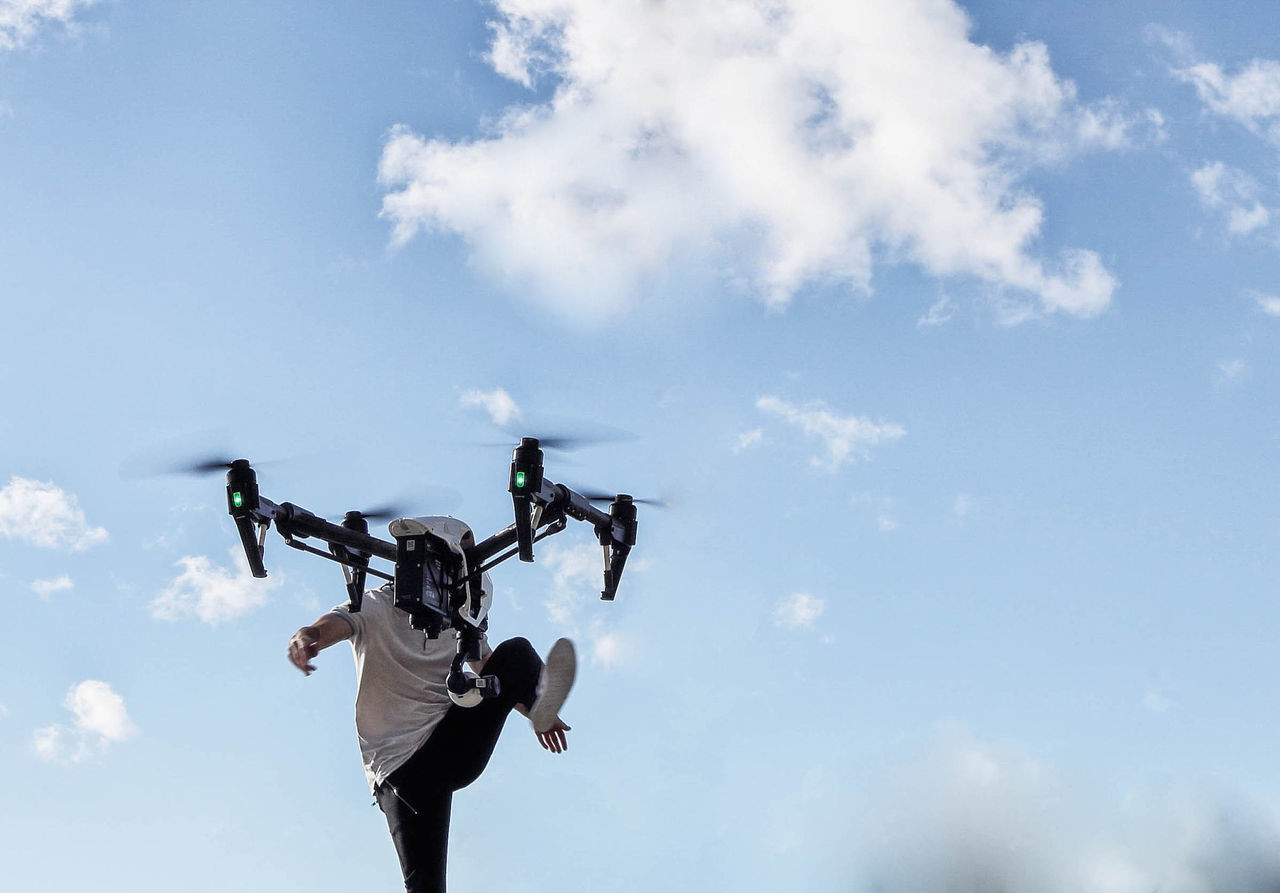 Beautiful stock photos of technology,  Casual Clothing,  Cloud - Sky,  Day,  Drone