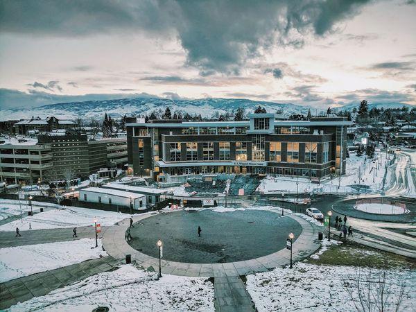 Winter Snow Cloud - Sky Architecture Outdoors EyeEmNewHere VSCO VSCO Cam Vscocam Unr Universityofnevada Universityofnevadareno