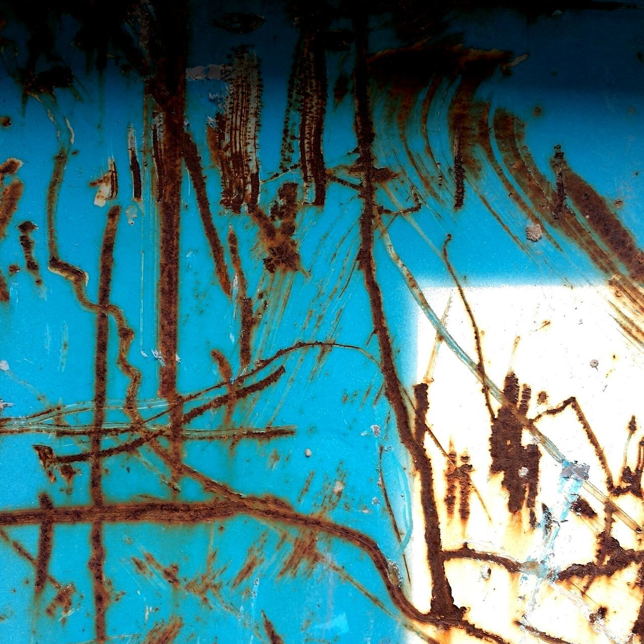 Dumpster Paint Decay Rust Abstract Unintentionalart Accidentalart Unintentional Art Accidental Art