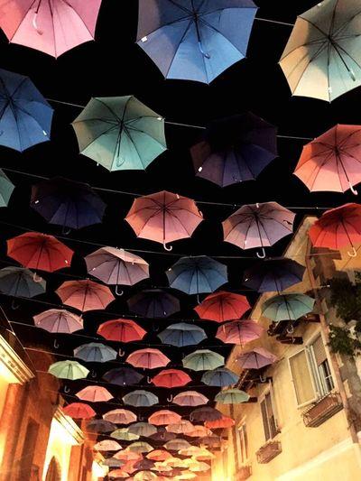 Ombrelli Umbrella Ombrelli Ombrellicolorati Ombrello Umbrella☂☂ Umbrellas Umbrellastreet Repetition Travel Destinations