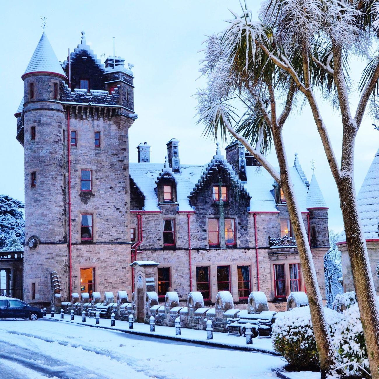 Castle View  Winter