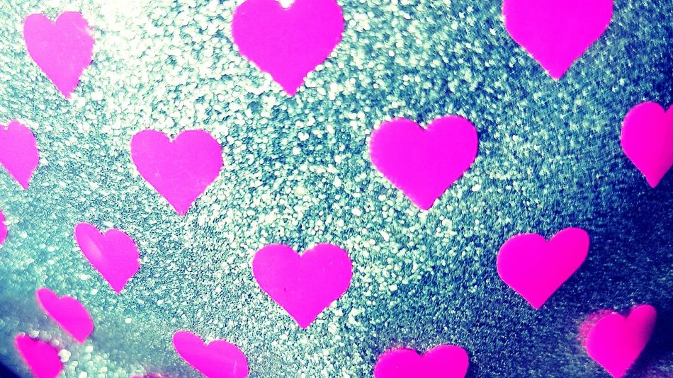 Pink Color Close-up Multi Colored No People Indoors  Celebration Day Glitter Pink Hearts