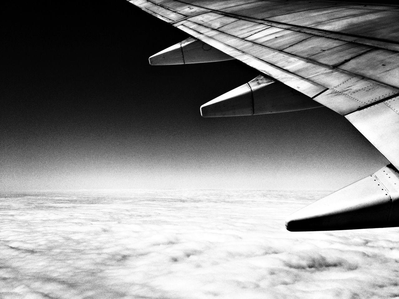 From An Airplane Window Blackandwhite Eye Em Best Shots