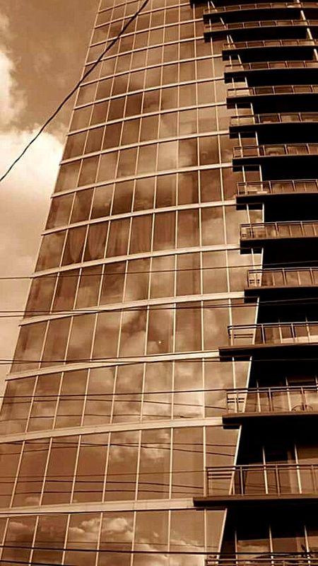 Clouds and Glass. Buckhead Atlanta Ga Sky Scraper Glass Reflection Mirror Cityscapes The City Light