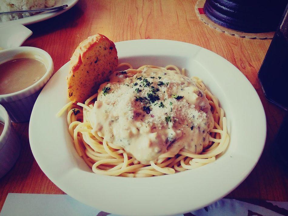 Carbonara Birthday Showcase March Foodporn Foodphotography Foodstagram Foodlovers Pasta Pastaporn Pasta Lover Whitesauce Whitesaucepasta