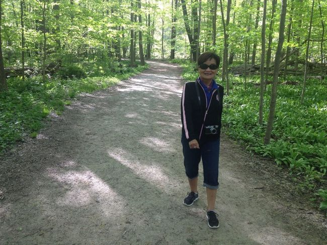 Our Morning Monday Hike At The Metropark
