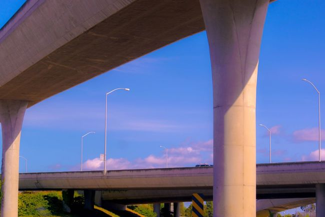 Bridge Freeway Bridge Taking Photos Hanging Out Hello World High Angle View Highway Blue Sky Sky And Clouds Sky_collection Bridge And Sky EyeEm Gallery Popular Photos Popular Photography Beautiful Day Cityscape Landscape_Collection Clouds Check This Out Eye4photography  Eyeemphotography