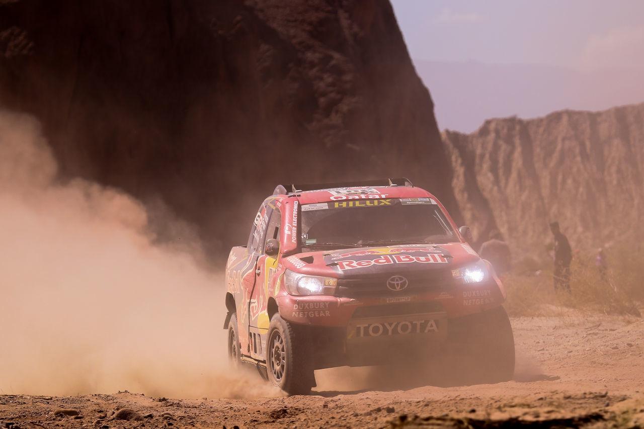 Car Dakar2017 DAKAR2017 La Paz Bolivia Hilux Nature Outdoors Race Rally Rally Car RedBull Redbullairrace Toyota