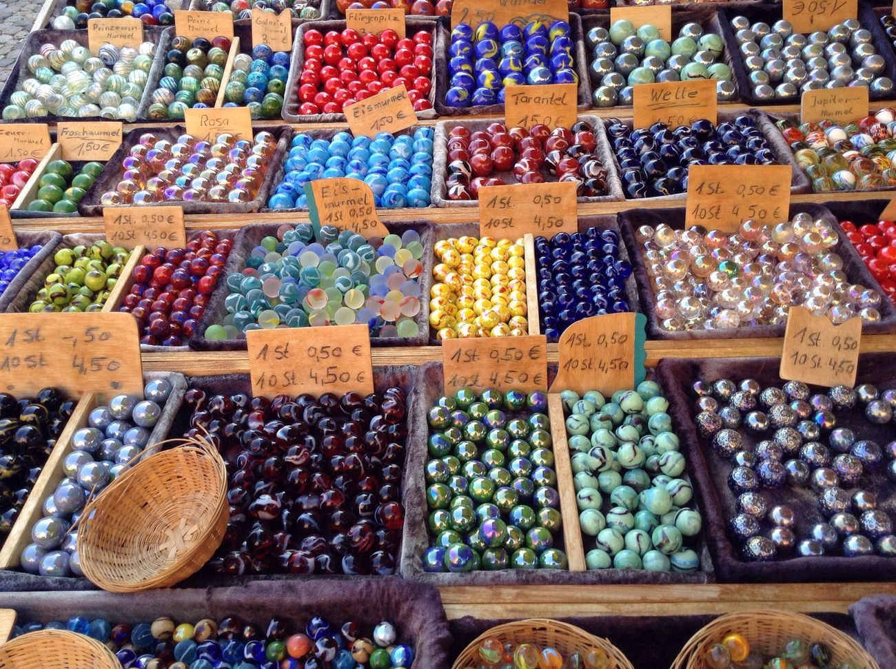 Multi Colored Variation Large Group Of Objects Market No People
