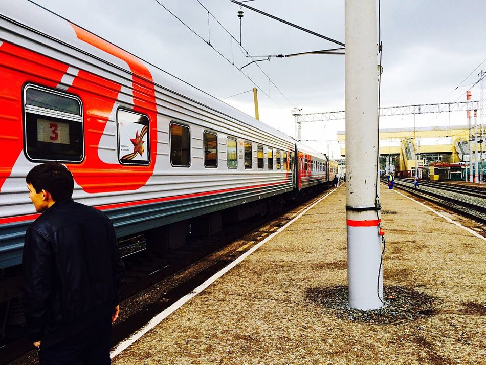 Ufa St.petersburg Rzd Railway Train