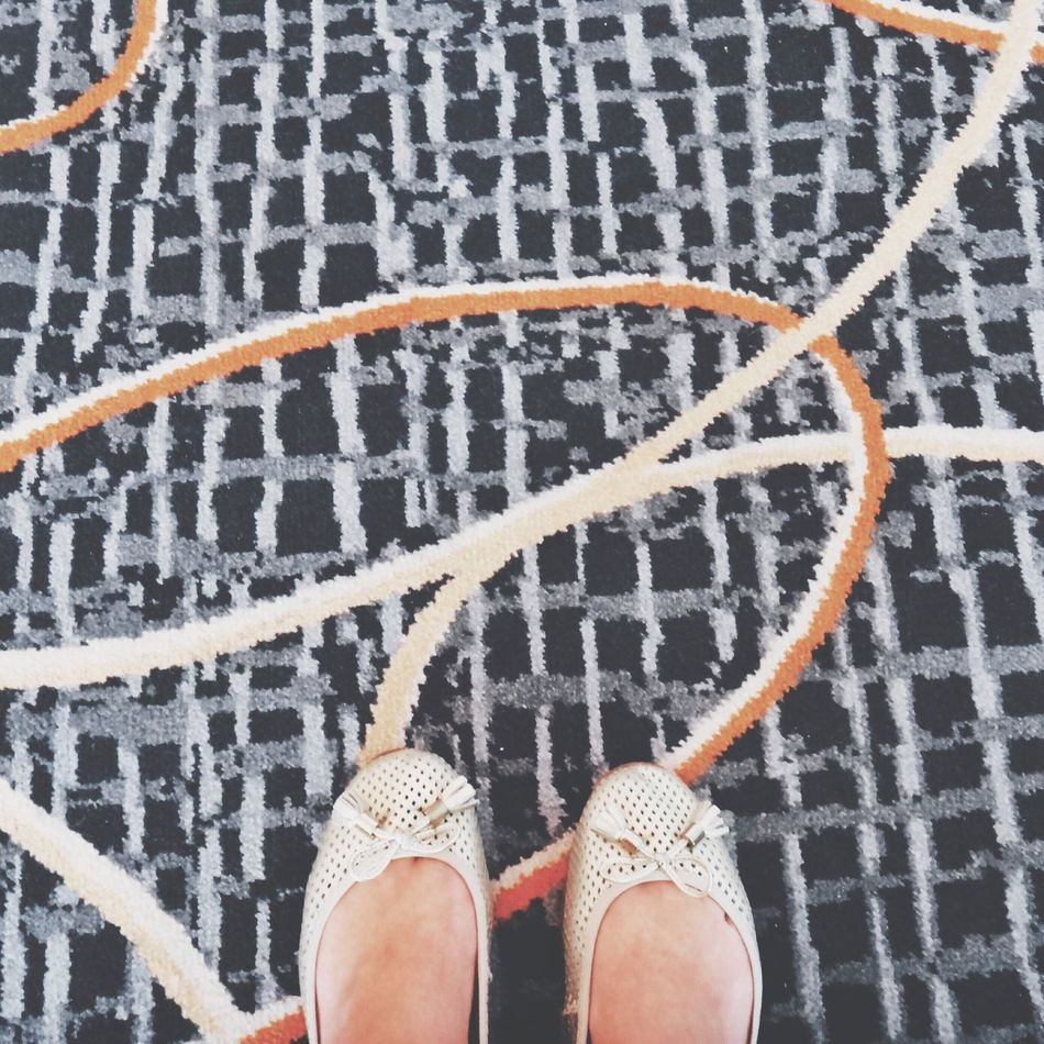 Pattern Pieces Pattern Feet Looking Down From Where I Stand Carpet Shoes Lines Squiggles Pastel Power Fine Art Photography A Bird's Eye View Two Is Better Than One