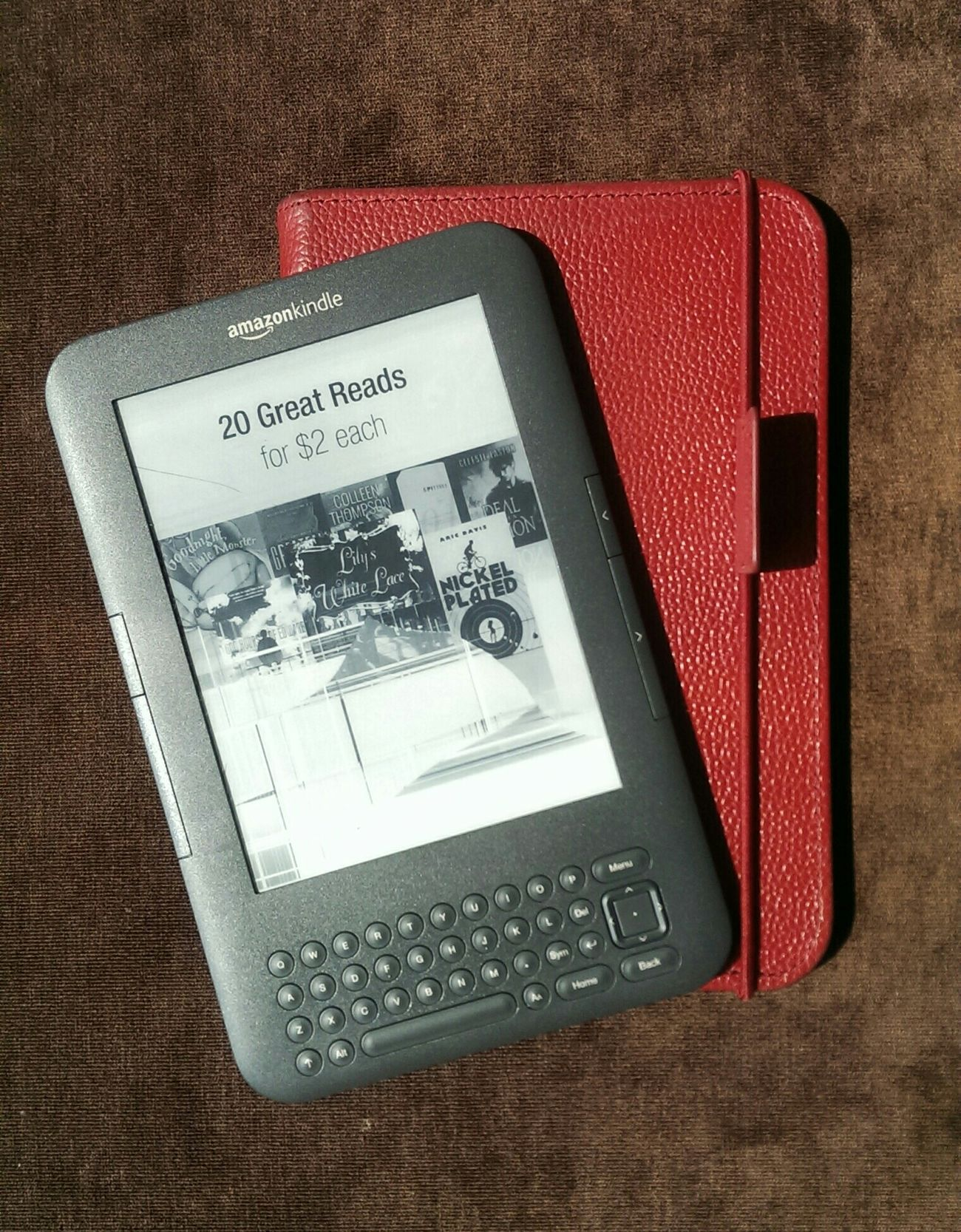 El Clasico Amazon Kindle Keyboard Love It