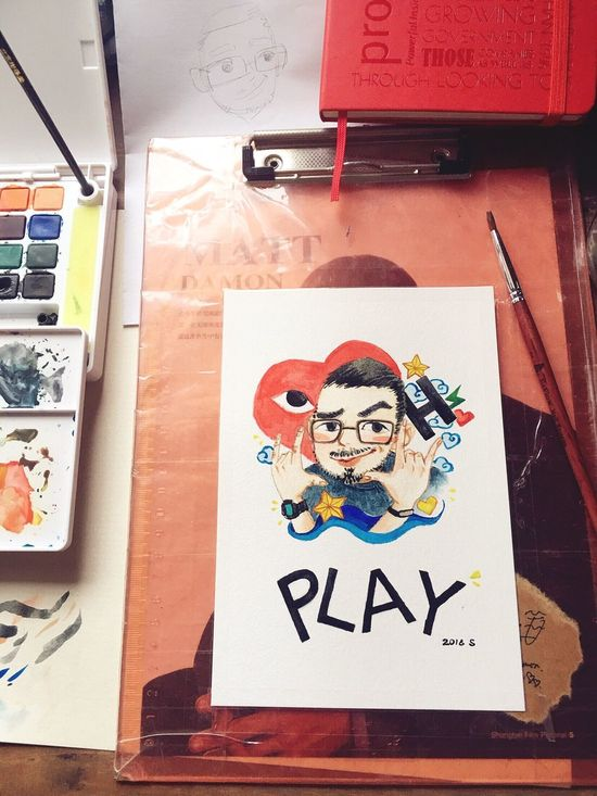 Watercolor Watercolor Painting Cartoon Sophiesart Design Drawing Art Play