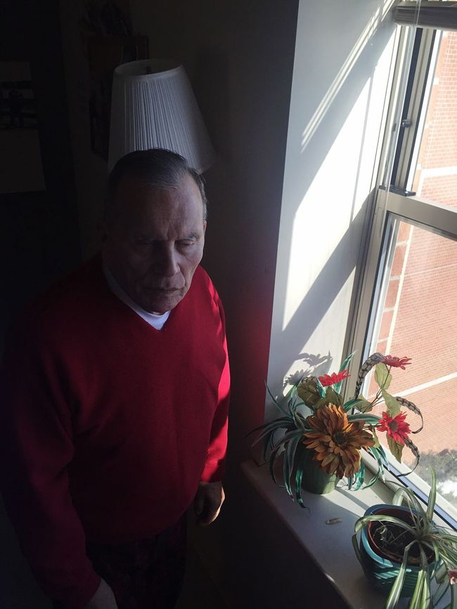 Grandfather AlzheimersAwareness Loved Taking Photos Unbreakable Bond