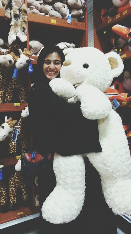 even if we grew up we still feel young once we hold and hug a teddy bear ~ Teddybear Remembering Childhood Hug Pure Happiness