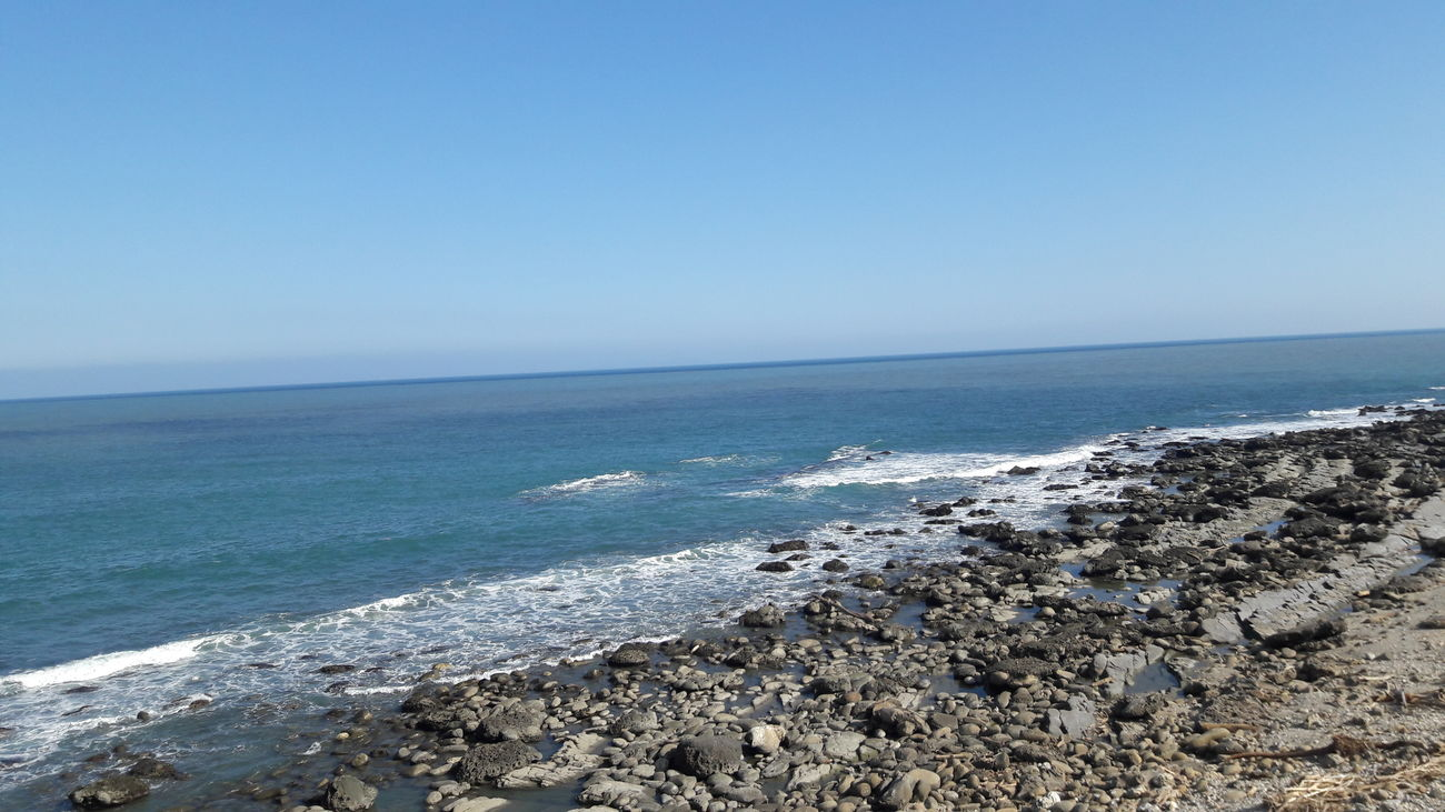 coastline in Taitung Sea Beach Beauty In Nature