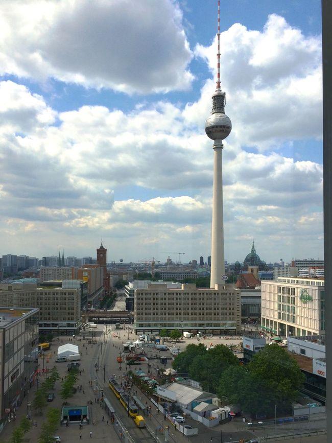 Berlin Berliner Ansichten Berlin Photography Berlin Mitte Tvtowerberlin Tvtower Fernsehturm Sky Sky And Clouds Panorama Panoramic Panoramic View Panoramashot View View From Above View From The Window...