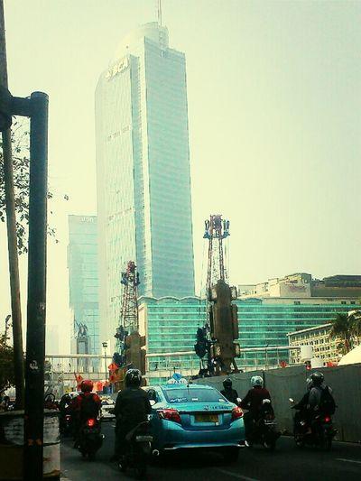 Traveling Jakarta Indonesia Project Mrt Macet