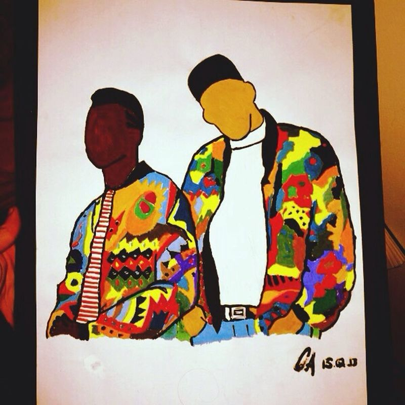 Made This By My Self ? Art Painting Will Smith Jazz