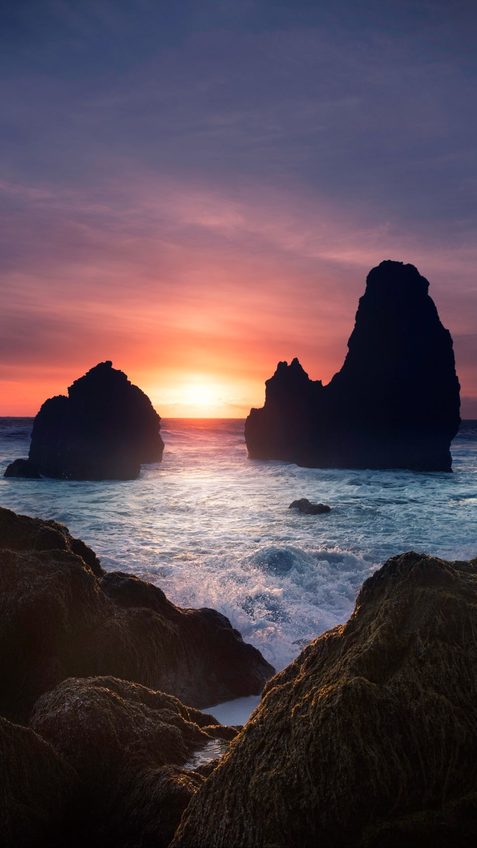 Amore Sea Sunset Rock - Object Nature Beauty In Nature Horizon Over Water Sky Cloud - Sky Beach Tranquil Scene Dramatic Sky Idyllic Cliff Awe No People Water Outdoors